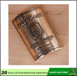Custom Metal Wine Label/Metal Bottle Label pictures & photos
