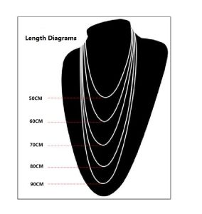 Necklace Lobster Chain Titanium Steel Fashion Jewelry 2.5mm 3.0mm 3.5mm pictures & photos