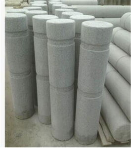 Natural Granite Car Parking Stone Road Barrier Ball Car Stop Stone pictures & photos