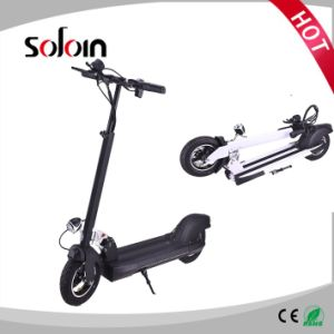 350W Foldable Brushless Motor 2 Wheel Street Electric Scooter (SZE350S-1) pictures & photos