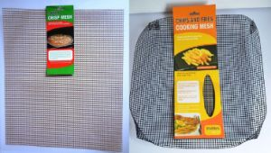 2 Non Stick Oven Baking Tray Crispy Chip Grill Basket pictures & photos