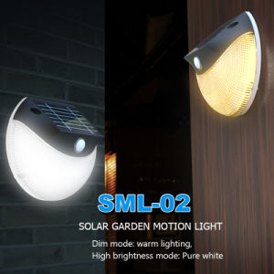 Modern LED Stainless Steel Solar Garden Light Home Wall Lamp IP65 pictures & photos
