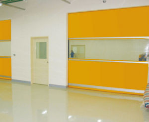 Ce Approved Vinyl High Speed Roll up Door pictures & photos