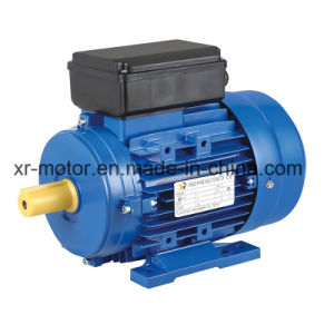 0.75kw/2poles/220V/My80 Single Phase Capacitor-Start Asynchronous Electric Induction Motor pictures & photos