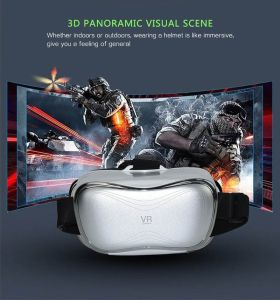 Vr10 3D Glasses with Earphone /English Manual