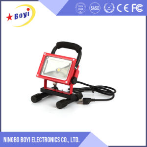 Hot Sale Cheap 10W Rechargeable LED Magnetic Work Light pictures & photos
