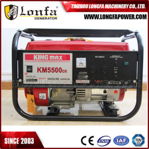 5kw/5kVA Kingmax Air-Cooled Power Gasoline/Petrol Generator Set pictures & photos