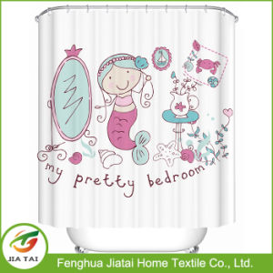 latest Design Polyester Shower Curtain Wholesale Bathroom Curtain pictures & photos
