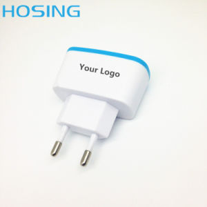 Shenzhen Factory 2.1A Single/ Dual USB Fast Charging Speed Travel/ Home Charger for Mobile Phone pictures & photos