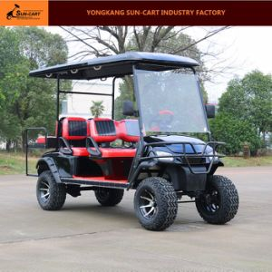6 Seater Electric Hunting Golf Cart Ce Approved Good Quality Golf Cart pictures & photos