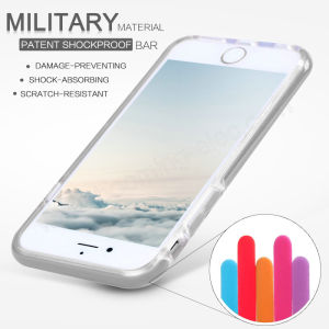 Patent Shockproof Military Material Shockproof TPU Case for iPhone-7-Plus pictures & photos