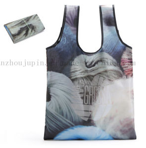 Custom Print Eco-Friendly Polyester Water Proof Shopping Bag pictures & photos