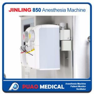 ICU Anesthesia Machine with 8.4 Inch 2 Vaporizers 5 Flowmeters Anesthesia Machine for Hunan pictures & photos