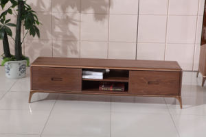 Pine Wood New Design Modern TV Stand with Drawers pictures & photos