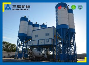180m3/H PLC Control Concrete Batching Plant pictures & photos