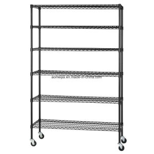 Metal Wire Display Exhibition Storage Shelving for Serbia & Montenegro  Shelf pictures & photos