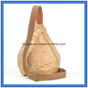 Popular Design New Material DuPont Paper outdoor Sport Backpack Bag, Promotion Slim Tyvek Paper Messenger Backpack Bag with Adjustable Belt pictures & photos