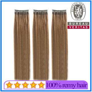 Double Strands Ring Hair Extension with Silicone pictures & photos