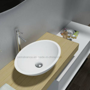 Artificial Stone Table Top Basin (PB2106) pictures & photos