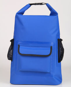 500d PVC Waterproof Dry Backpack Bags with External Pocket (YKY7309) pictures & photos