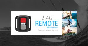 30m Waterproof Camera with Remote Controller pictures & photos
