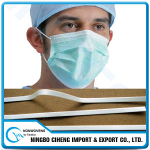 Respirator Clip Piece PE Full Plastic Nose Wire for Face Mask pictures & photos