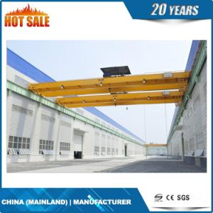 High Quality 10t- 30t Double Girder Overhead Crane pictures & photos