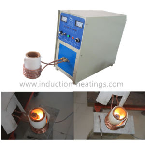 High Frequency Induction Heating Crucible Melting Furnaces with Water Cooling System pictures & photos