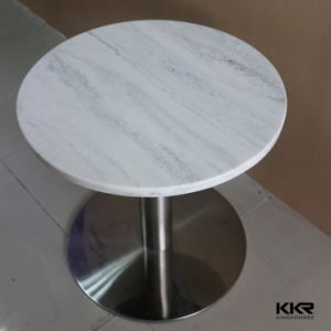 Modern Commercial Acrylic Solid Surface High Top Bar Table pictures & photos