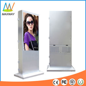 Floor Standing 65 Inch Outdoor Monitor, Outdoor LCD Display for Advertising Kiosk (MW-651OE) pictures & photos
