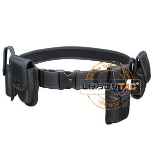 Double Locking Military Police Duty Belt Meet ISO Standard pictures & photos