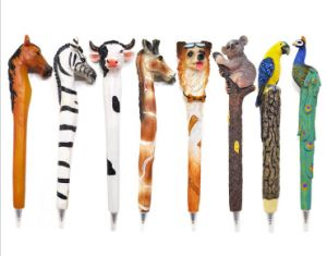 Custom Hot Sell Animal Shaped Resin Pens pictures & photos
