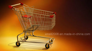 Shopping Trolley Kitchen Trolley Supermarket Cart for Shopping (AS-0013) pictures & photos