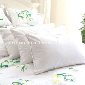 Soft 6cm White Duck Feather Hotel Pillow pictures & photos