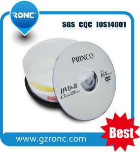 Single Layer 50PCS Spindle Blank DVDR 16X 4.7GB 120mins pictures & photos