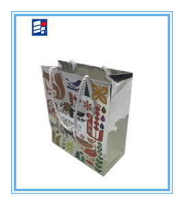 Wholesales Paper Packing Handle Bag with Printing Custom Logo pictures & photos