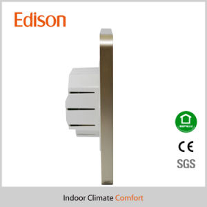 LCD Touch Screen Smart Programmable Heating Room Thermostat (TX-937HO-W) pictures & photos