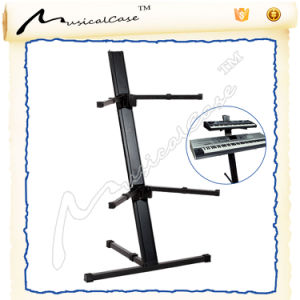 F Shaped Double Portable Keyboard Stand for Sale pictures & photos