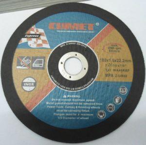 4.5′′ -115X1.0X22.2mm Abrasivos Disco De Corte pictures & photos