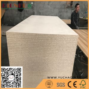 E1 Glue 25mm Plain Flakeboard/Chipboard/Particle Board for Melamine Faced pictures & photos