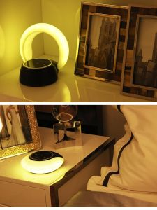 High Quality Rechargeable Portable Wireless Bluetooth 4.2 Speaker and LED Light Lamp with Quality Sound pictures & photos
