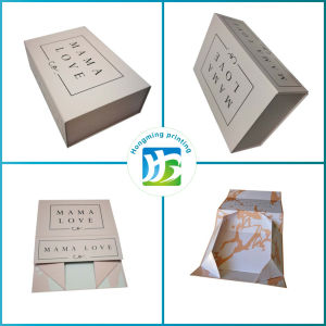 Custom Logo Folding Paper Gray Board Box pictures & photos