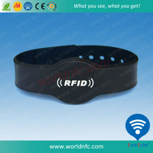 Dropshipping RFID Rubber Inspirational Wristband Bracelets pictures & photos