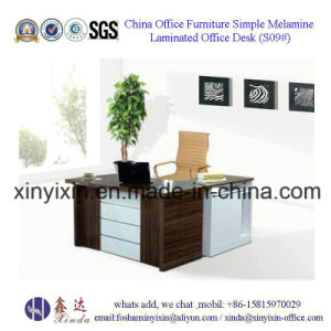 Foshan Factory Price Office Furniture MFC Boss Office Table (S01#) pictures & photos