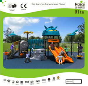 Kaiqi Medium Sized Robot Themed Children′s Playground - Customized (KQ10109A) pictures & photos