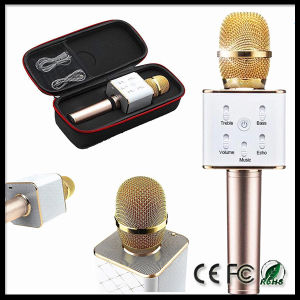 Portable Handheld Bluetooth Wireless Karaoke Microphone Speaker pictures & photos