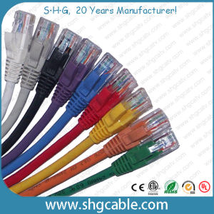 Ethernet LAN Network Cable Cat5e CAT6 Patch Cord pictures & photos