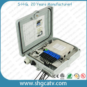 12 Splices FTTH Fiber Optic Distribution Box (FDB-0212) pictures & photos