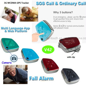 Hot Selling 3G GPS Tracker Device with Fall Down Alarm pictures & photos