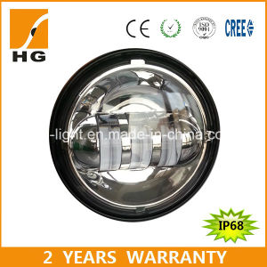 Harley LED Headlight Offroad Motorcycle Lights 4.5inch LED Fog Lights (HG-W02) pictures & photos